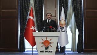 """AK Parti Sözcüsü Çelik: """"Tüm tedbirlerin yaşlılarımızın hayatını korumak için zorunlu olduğunu ifade etmek isteriz."""""""