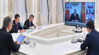 Avrasya Ekonomik Birliği Liderler Zirvesi Kovid19 gündemiyle toplandı