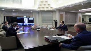 Cumhurbaşkanı ve AK Parti Genel Başkanı Erdoğan, İstanbul İl Teşkilatı ile görüştü: