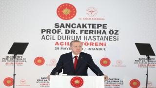 Cumhurbaşkanı Erdoğan, Prof. Dr. Feriha Öz Acil Durum Hastanesi açılış töreninde konuştu: (1)