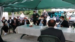 Tarım ve Orman Bakanı Pakdemirli, yardımcısı Fatih Metin'e başsağlığı diledi