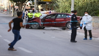 Konya'da otomobilin çarptığı 5 yaşındaki çocuk ile babası hayatını kaybetti