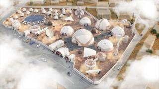 """Kuşadası'nda """"Mars kolonisi"""" temalı turistik tesis projesi"""