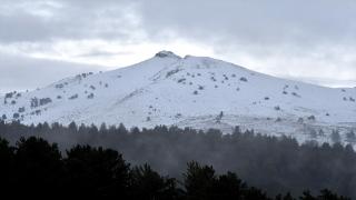 Kars'ta yüksek kesimler karla kaplandı