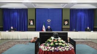 """İran Cumhurbaşkanı Ruhani: """"Gelecek ABD hükümeti İran'la ilgili yükümlülüklerine geri dönmeli"""""""