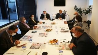 TBMM İnsan Hakları İnceleme Komisyonu'ndan Agos Gazetesi'ne ziyaret