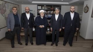 Mescidi Aksa İmam Hatibi Şeyh İkrime Sabri, AA'yı ziyaret etti