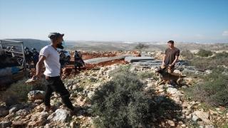Filistinliler, Yahudi yerleşimcilerin topraklarına el koymasına izin vermedi