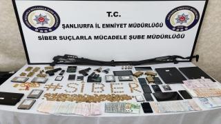 Şanlıurfa merkezli yasa dışı bahis operasyonunda 20 şüpheli yakalandı
