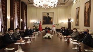 Adalet Bakanı Gül, AB Türkiye Delegasyonu Başkanı Meyer Landrut ile görüştü