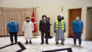 Türkiye Diyanet Vakfı heyetinden Türkiye'nin İslamabad Büyükelçiliğine ziyaret