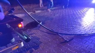 Manisa'da tıkanan kanalizasyon hattını açmaya çalışan işçi ağır yaralandı