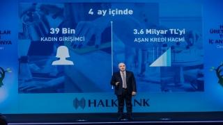 """""""Halkbank Üreten Kadınlar Toplantısı"""" Konya'da gerçekleştirildi"""