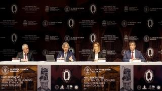 Hacı Bektaş Veli'nin Vefatının 750. Yılı Anma Etkinlikleri tanıtıldı
