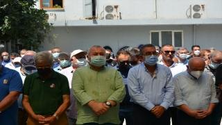 Türkiye Okçuluk Federasyonu Başkanı Abdullah Topaloğlu'nun eşi toprağa verildi