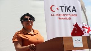TİKA, Gürcistan'da iki projenin açılışını gerçekleştirdi