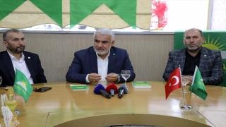 HÜDA PAR Genel Başkanı Yapıcıoğlu, Ağrı'da muhtarlarla bir araya geldi: