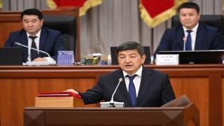 Kırgızistan Cumhurbaşkanı Caparov'un önerdiği yeni kabine mecliste güvenoyu aldı