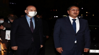 İçişleri Bakanı Soylu, Kırgızistan Acil Durumlar Bakanı Azikeev ile görüştü: