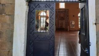 Yunanistan'da camiye alçak saldırı