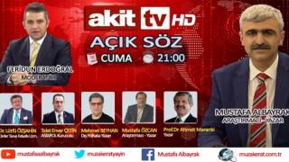 Başyazarımız Mustafa Albayrak bu akşam saat 21:00'de Akit TV'de