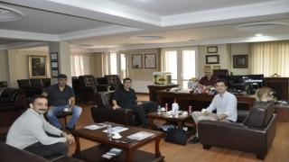 Türkiye Gençlik Birliği ve Vatan Partisi Gençlik Kolları Başkanları Başyazarımız Mustafa Albayrak'ı ziyaret etti