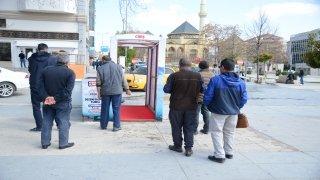 Kırşehir Belediyesi 3 noktaya dezenfekte tüneli kurdu