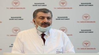 """Sağlık Bakanı Koca:""""İstanbulumuz, iki yakadaki şehir hastanelerimizle birlikte sağlık altyapısı bakımından da dünyanın en başta gelen şehri olacaktır"""""""