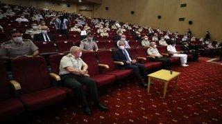 Bakan Akar, personelle bayramlaşma programında gündemi değerlendirdi