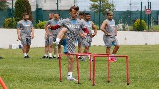Trabzonspor çalışmalarını sürdürdü