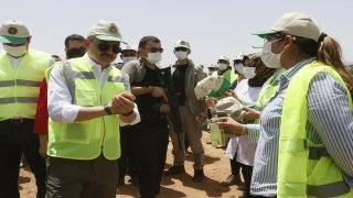 TİGEM Ceylanpınar Sulama Projesi hayata geçirildi