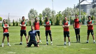 Konyaspor, günü tek antrenmanla değerlendirdi
