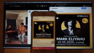 Kamança ustası Mark Eliyahu online konser verdi