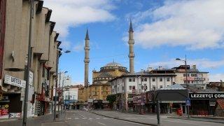İç Anadolu, sokağa çıkma kısıtlamasının ardından sessizliğe büründü