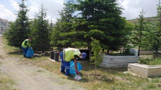 Keçiören Belediyesi ilçedeki mezarlıkları ziyarete hazır hale getirdi