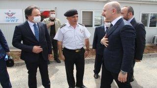 Bakan Karaismailoğlu, AnkaraSivas YHT hattında incelemede bulundu: