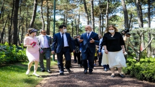 Ümraniye, Dostlar Bahçesi Projesi ile 11 ülkenin temsilcisini ağırladı