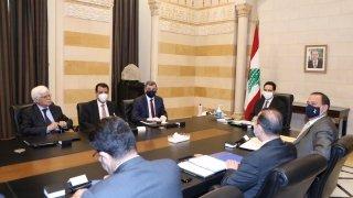 Lübnan Başbakanı Diyab, Iraklı yetkililerle petrol ithalatını görüştü