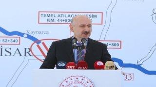 Bakan Karaismailoğlu, Saray Kırklareli yolunun temelini attı: