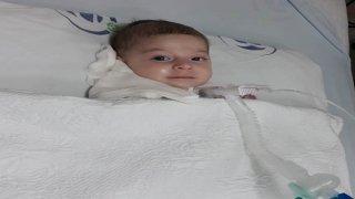 SMA hastası 4 aylık Ahsen ilaç bekliyor