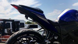 Plakasını gizlemek için özel düzenek bulunan motosikletin sürücüsüne para cezası