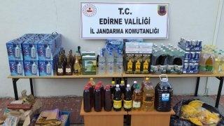Edirne gümrük kaçakçılığı operasyonunda 4 şüpheli yakalandı