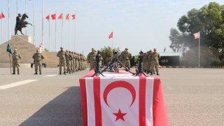 KKTC'de askeri yemin töreni