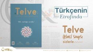 Telve dergisi, Türkçenin ele alındığı ikinci sayısıyla okurlarıyla buluştu