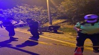 Aydın'da aydınlatma direğine çarpan motosiklet sürücüsü öldü