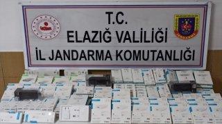 Elazığ'da kaçakçılık operasyonu: 2 gözaltı