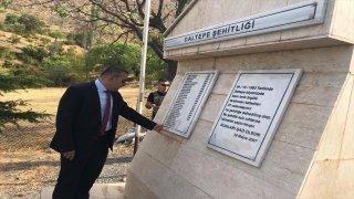 PKK'lı teröristlerin Daltepe ve Kalkancık köylerinde katlettiği 37 kişi törenle anıldı