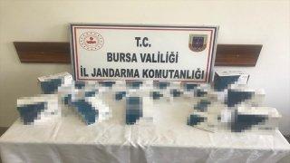Bursa'da Kovid19 test kiti sattıkları iddia edilen 4 zanlı yakalandı