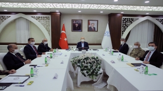 İçişleri Bakanı Süleyman Soylu, valilerle Kovid19 tedbirlerini görüştü