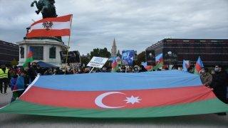 Avusturya'da, Ermenistan protesto edildi